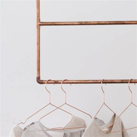 How To Build A Clothes Rack by A Diy Tutorial About How To Build A Copper Clothing Rack
