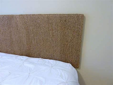 rope headboard 25 diy ways of using rope for a vintage look