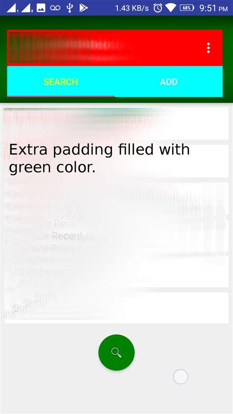 android layout xml padding margin xml android remove left margin from actionbar s custom