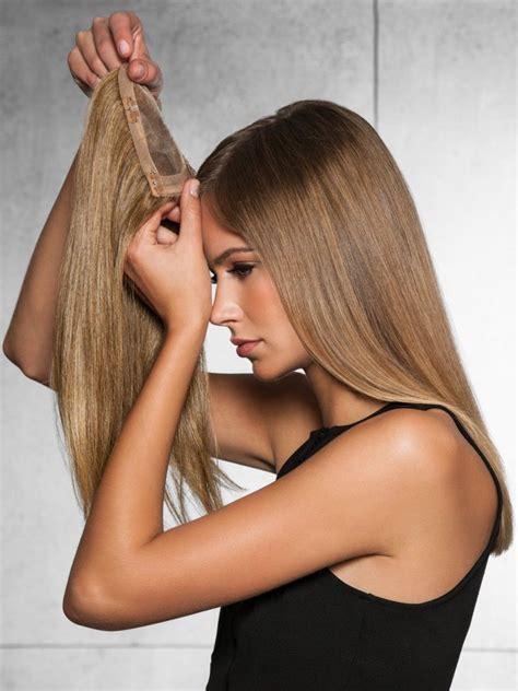 clip in crown volumizer top of head clip in crown volumizer by hairdo