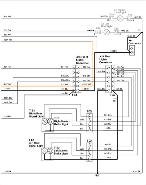 wiring diagram of 1999 deere 6x4 gator jd gator