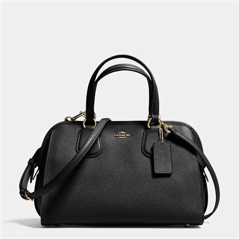 Coach Leather Satchel by Coach Nolita Satchel In Crossgrain Leather In Black Lyst