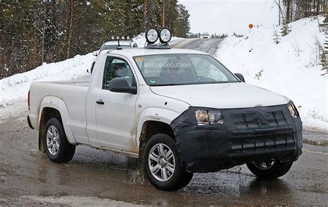 volkswagen winter 2017 volkswagen amarok spied testing in winter conditions