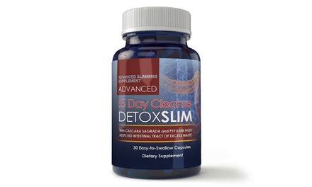 Groupon Detox Cleanse by Angry Supplement 15 Day Cleanse Detox Slimming Supplement