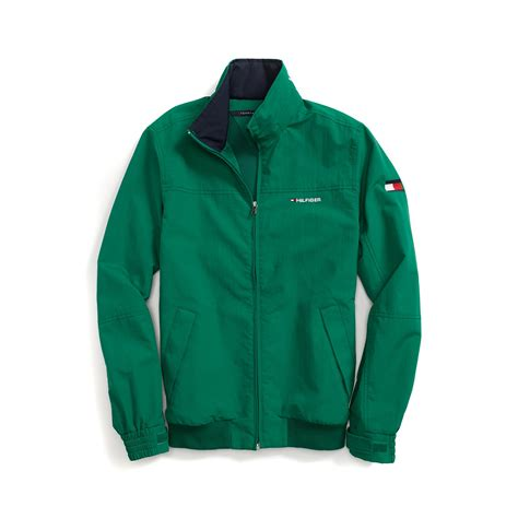 yacht jacket tommy hilfiger tommy hilfiger yacht jacket in green for men verdant