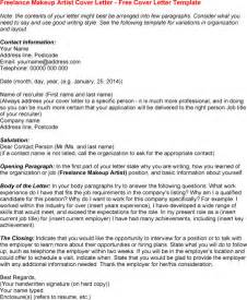 Make Up Artist Cover Letter by Resume Makeup Artist Freelance Ebook Database