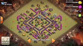 Clash of clan 8 town hall war base newhairstylesformen2014 com
