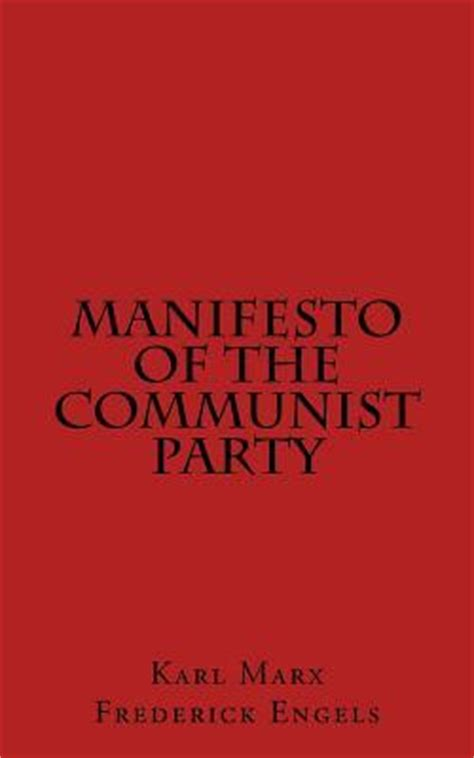 manifesto of the communist books manifesto of the communist karl marx frederick