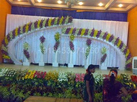 Bangalore Wedding Stage Decoration by Stage Decorators Bangalore Wedding Flower Decorators