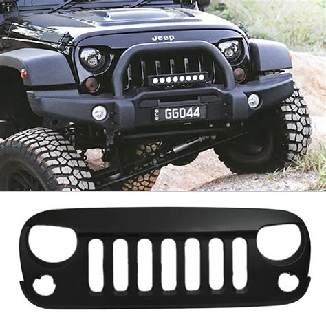 Jeep Grill Angry Grill Grille Jeep Wrangler Jk Seven Slot Mad