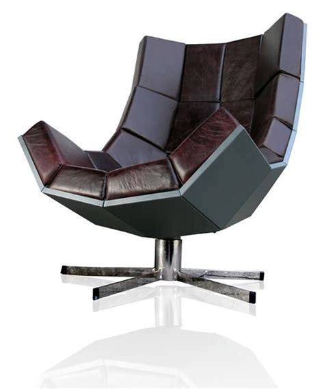Leather Armchair Recliner The Luxurious Villain Swivel Lounge Chair By Uk