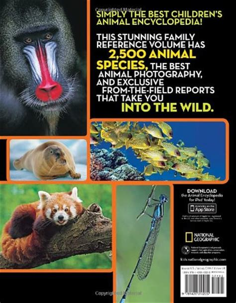 national geographic animal encyclopedia 2 500 animals - 1426310226 National Geographic Animal Encyclopedia Animals