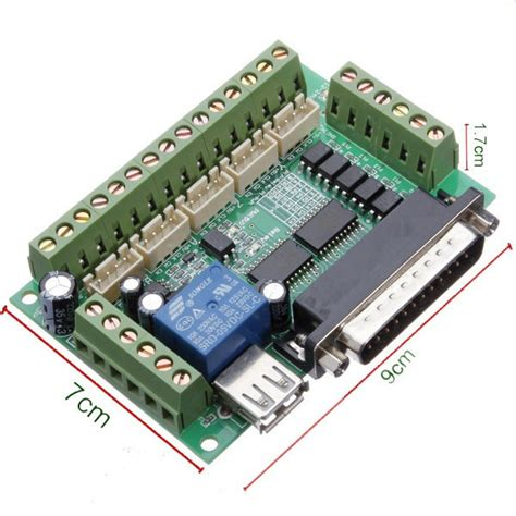 Out Board Cnc 5 Axis 5 axis cnc interface adapter breakout board for stepper