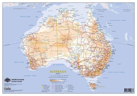 free road maps of australia transport in australia