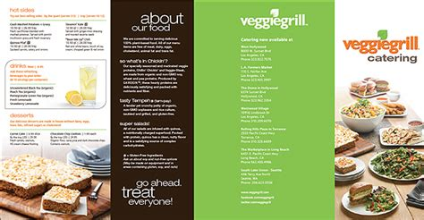 Flowers In November 187 veggie grill catering menu at the table los angeles
