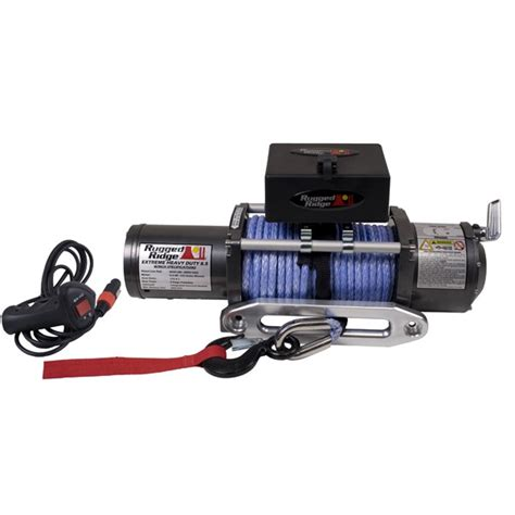 Rugged Ridge 8500 rugged ridge performance 8 500 lbs road winch 15100 02 jeepinoutfitters