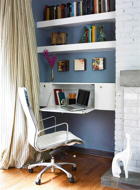 18 mini home office designs decorating ideas design 28 white small home office ideas home design and interior
