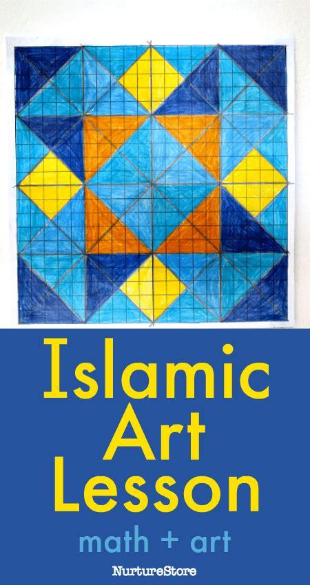 islamic pattern art lesson islamic geometric art lesson for children nurturestore