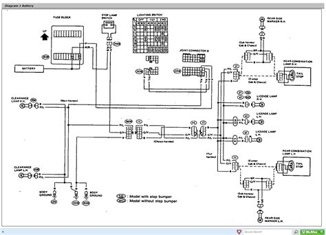 1997 nissan electrical diagram wiring diagram
