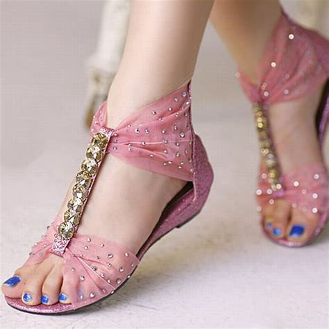 flat wedding shoes pink flat boho wedding