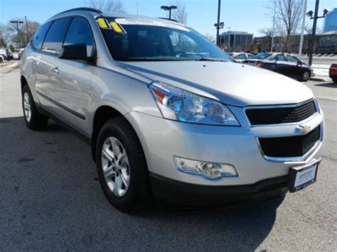 auto body repair training 2011 chevrolet traverse seat position control sell used certified 2011 chevy traverse ls fwd 3 6l third row seat in schaumburg illinois