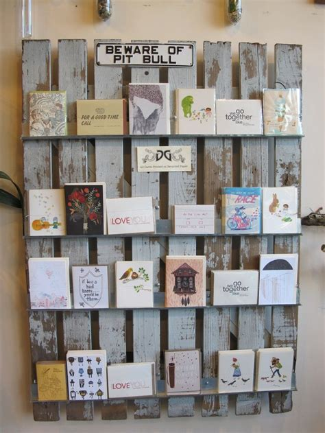 25 best ideas about card displays on stall