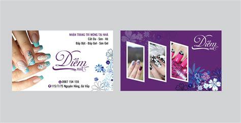 Nail Cart by Nails Card Bộ Sưu Tập Card Visit Cho Nail Salon Html