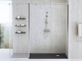 dusche begehbare dusche mineralgu 223 140 x 70 badewannen24 eu