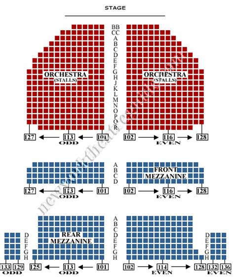 golden gate theater seating golden gate theatre seating chart brokeasshome