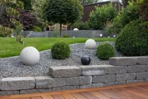 Gartengestaltungsideen Mit Kies Gartengestaltungsideen Steingarten Anlegen Mit Passender