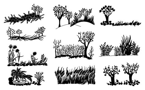 silhouette background 10 nature background silhouette png transparent