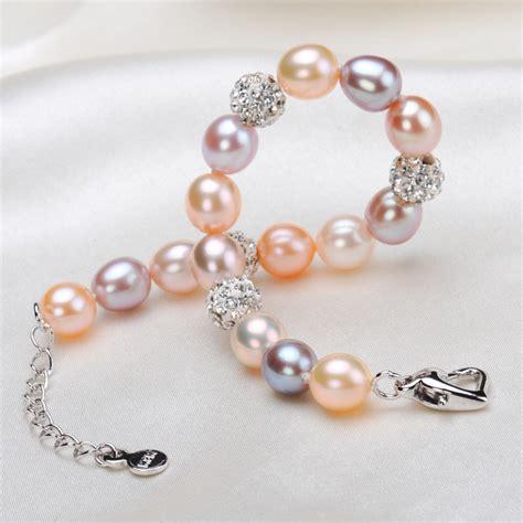 Handmade Pearl Bracelets - multi freshwater pearl bracelet handmade avenue