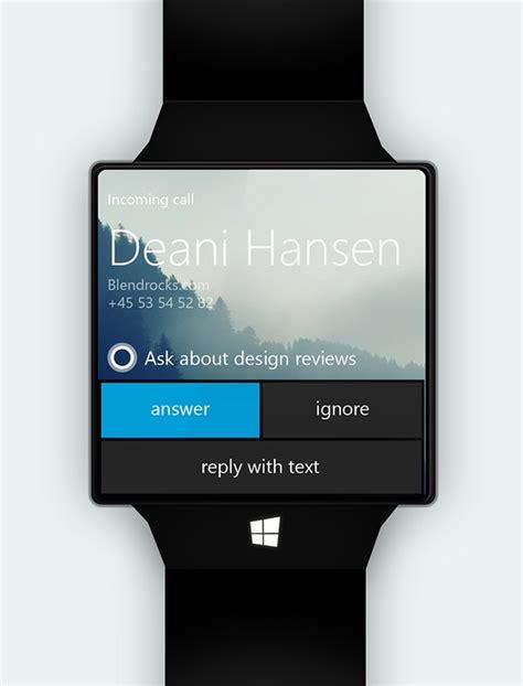 Smartwatch Microsoft microsoft smartwatch concept designs dev resources