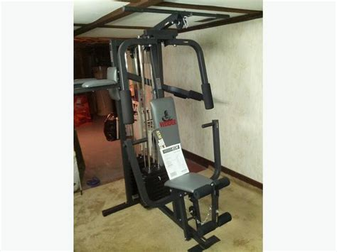 weider 8530 home weight machine saanich