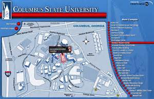 Columbus State Map by Cougars For Christ Contact