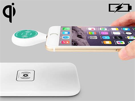 Qi Wireless Charging Lightning Receiver Iphone 55sse5c6 Charger qi standard lightning wireless charger receiver