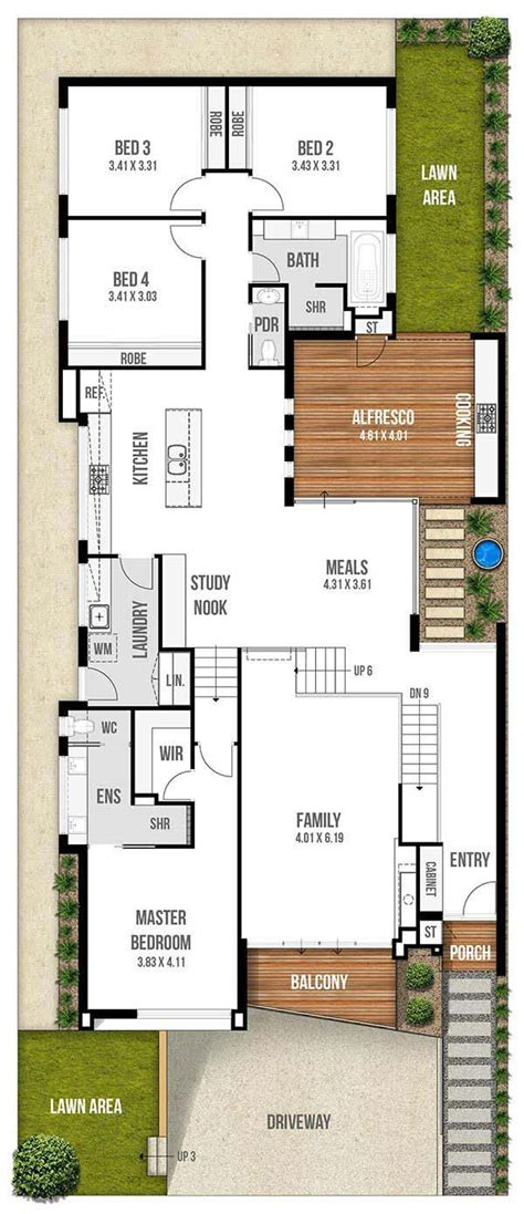 narrow lot house plans with garage best narrow lot house narrow house plans with garage underneath home desain 2018