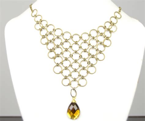 how to make chainmail jewelry how to make bronze chainmaille jewelry with jumpring and