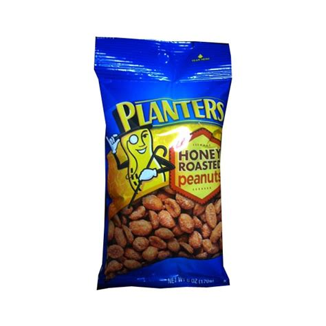 Planters Honey Roasted Peanuts Nutrition by Nuts Seeds Snacks Convenience Store Wholesalers