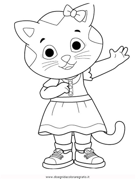free o from daniel tiger coloring pages