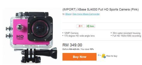 Gopro Murah kamera sj4000 alternatif gopro yang lebih murah