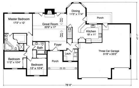 princeton ii 9076 3 bedrooms and 2 5 baths the house designers