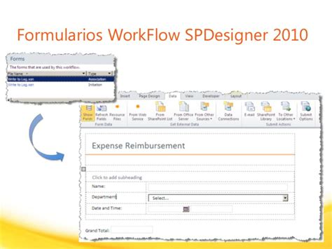 infopath workflow sharepoint 2010 sharepoint 2010 e infopath 2010