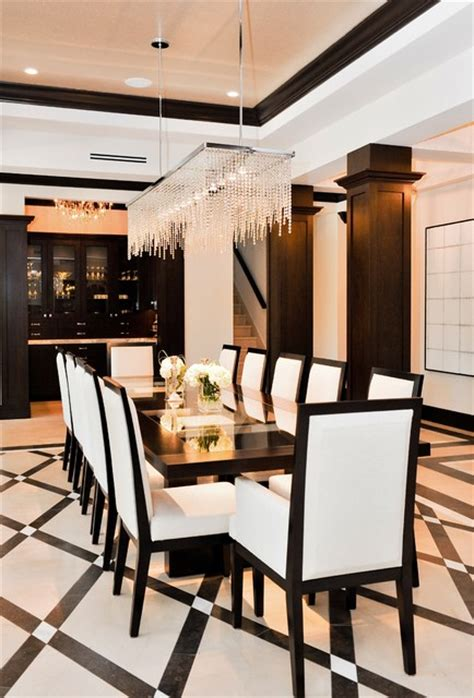 Houzz Modern Dining Room by Dirtydozen Dining Room Miami By