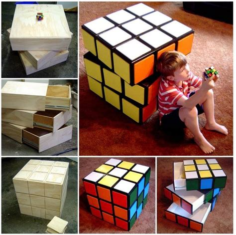 tutorial rubik square diy rubik s cube chest drawers tutorial
