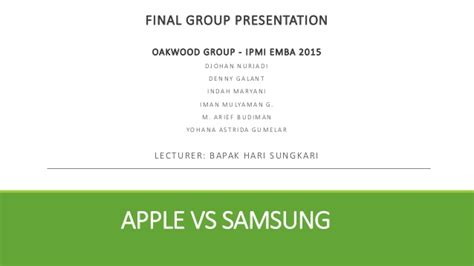 Mba In Hm by Emba Ipmi Final Presentation Oakwood Group V8 2
