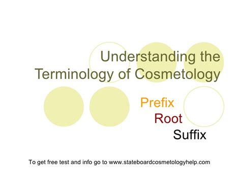 state board practical set up upload share and discover understanding the terminology of cosmetology