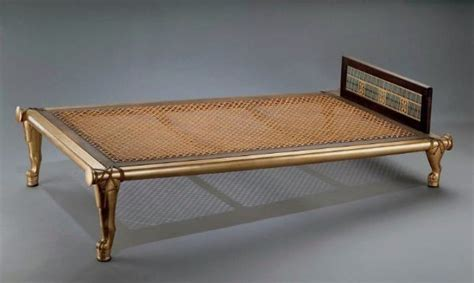 inclined bed queen hetepheres inclined bed from the ancient egyptian