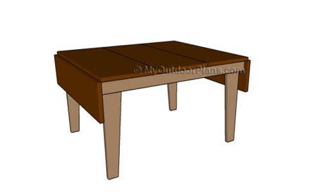 diy drop leaf table drop leaf table plans myoutdoorplans free woodworking