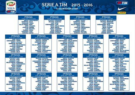 Calendario Serie A Calendario Serie A 2015 16 Si Comincia Con Fiorentina Milan
